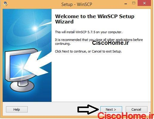 نصب winSCP2