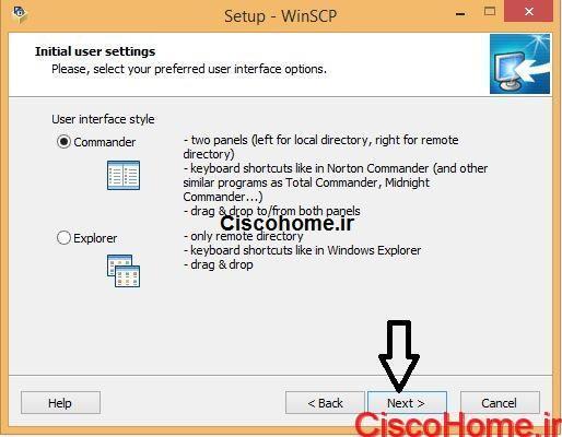 نصب winSCP5