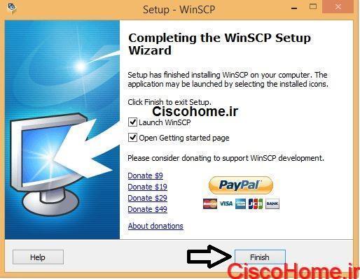 نصب winSCP7
