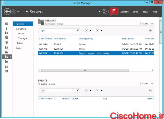 اشتراک گذاری فایل در ویندوز سرور2012