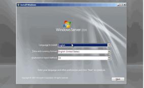 آموزش نصب ویندوز سرور ۲۰۰۸