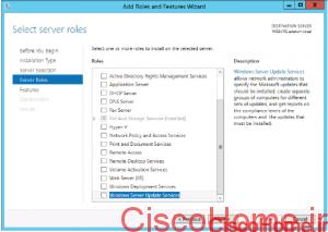 اضافه کردن Roles در ویندوز سرور 2012